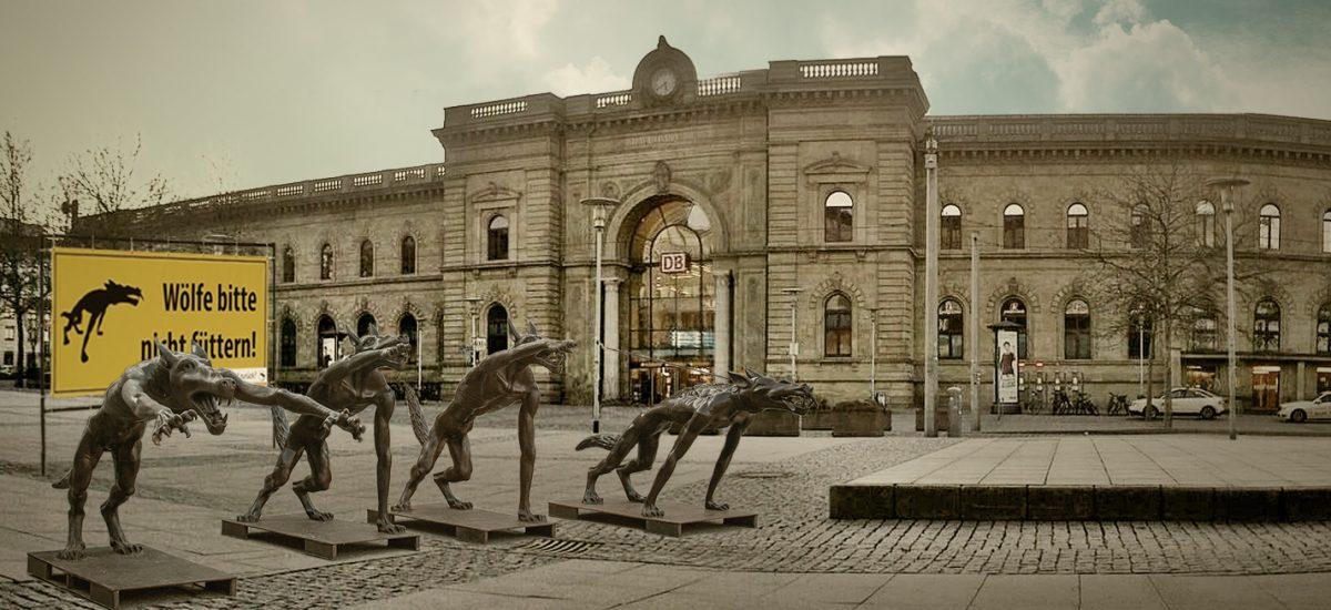 Wölfe-in-Magdeburg